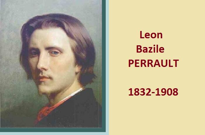 Автопортрет. Леон Базиль Перро (Leon Bazile Perrault), 1832-1908. Франция.